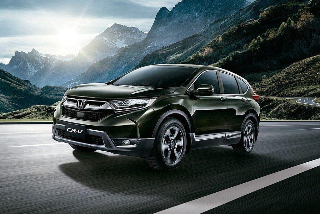 在產能穩定後,Honda CR-V銷售持續看漲並成為上半年台灣市場最暢銷的休旅車...
