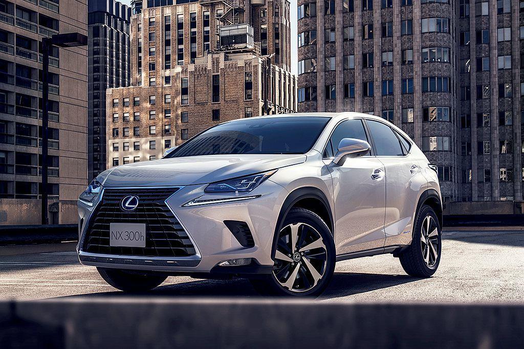 憑藉著更低的入手門檻,使豪華品牌Lexus的NX都會休旅銷售表現亮眼。圖/Lex...
