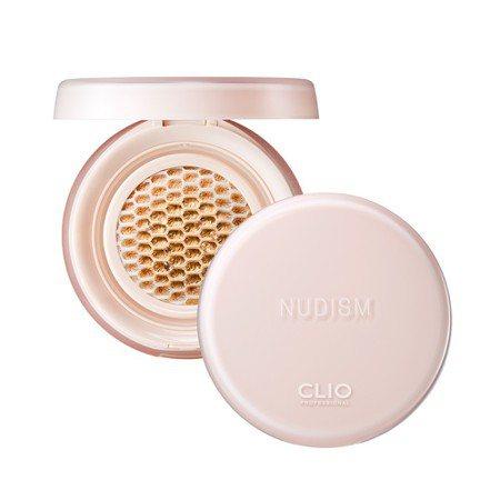 CLIO珂莉奧極透裸光蜂巢氣墊粉餅,售價850元。圖/康是美提供