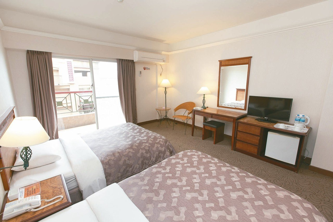 知本高野大飯店常住專案,飯店住一個月只要9,999元,價格很具吸引力。 圖/台東...