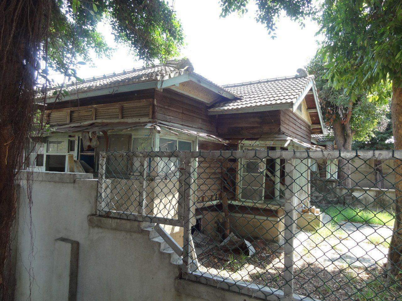 台南市定古蹟台南刑務所中的長官宿舍。圖/陳信安提供