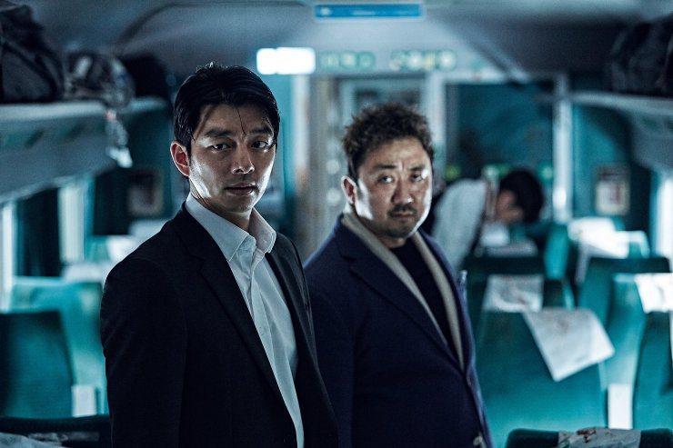孔劉(左)、馬東石(右)主演的「屍速列車」曾在全亞洲締造賣座佳績。圖/車庫娛樂提