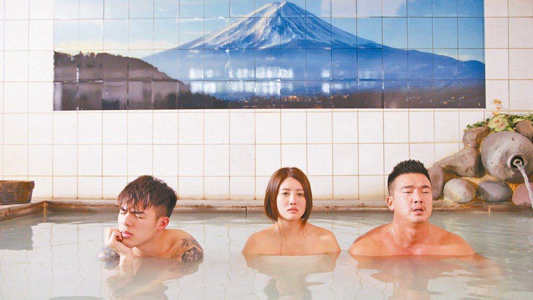 KKTV彩虹六部曲系列的《美男魚澡堂》劇照。 圖/瀚草影視、大慕影藝、CHOCO...