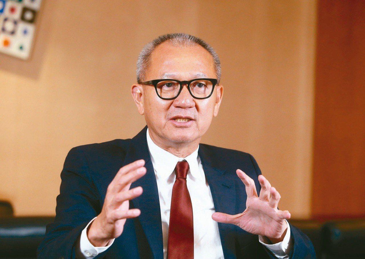 圖為國巨集團董事長陳泰銘。報系資料照