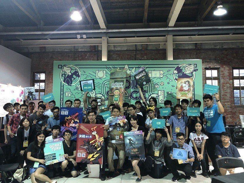TGDF Indie Space本次展出有30個台灣團隊以及6個海外團隊參與展出...