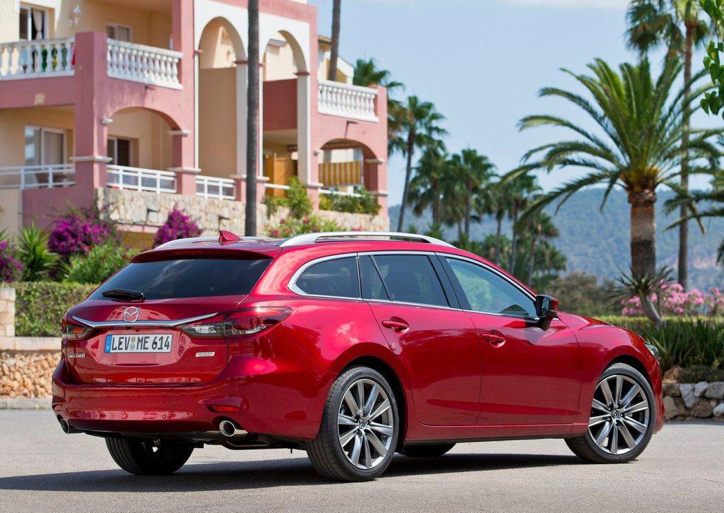 Mazda6 Wagon有著日系車精緻且優雅大器的特色。 摘自Mazda