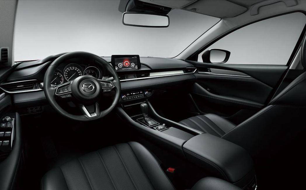 Mazda6 Wagon的內裝簡潔質感高級。 摘自Mazda