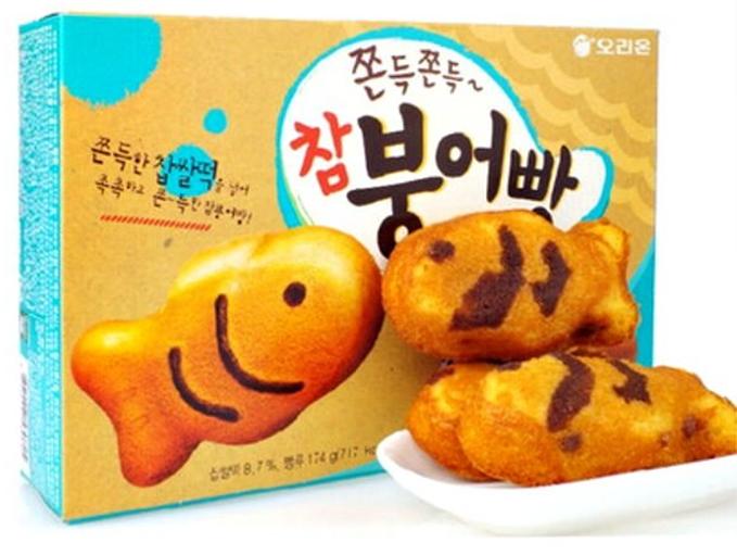 小魚紅豆麻糬餅鯛魚燒蛋糕。 圖/lbj.tw