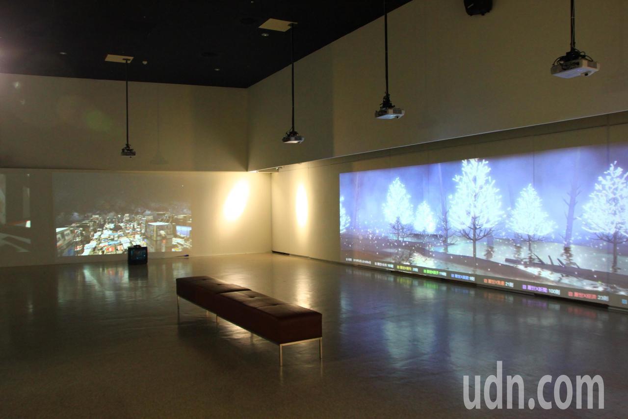 新竹市241藝術空間,空間寬敞,每一季都會展出不同的特展,。記者郭政芬/攝影