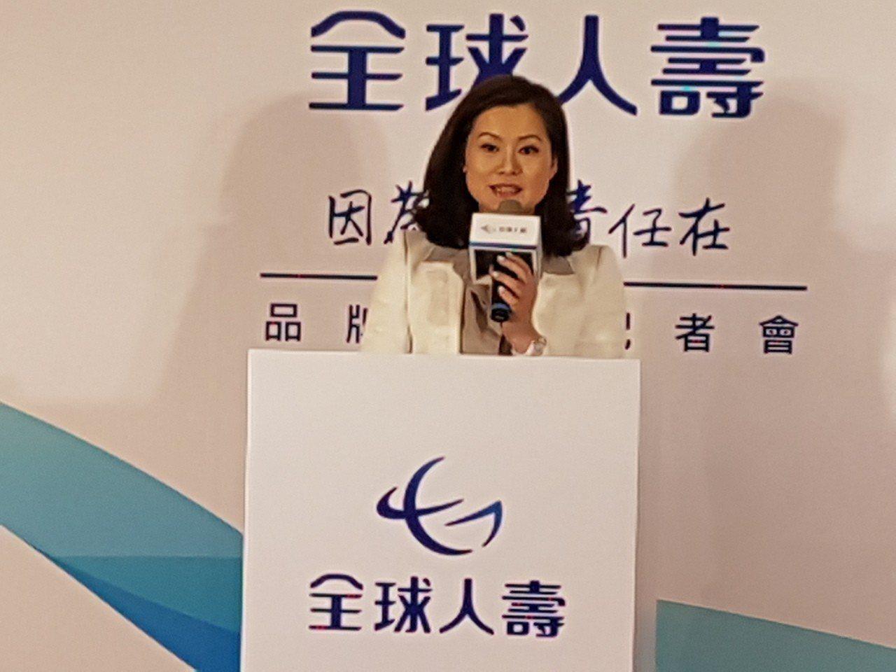 全球人壽董事長彭騰德的夫人林文惠,續任全球人壽第7屆董事。記者孫中英/攝影
