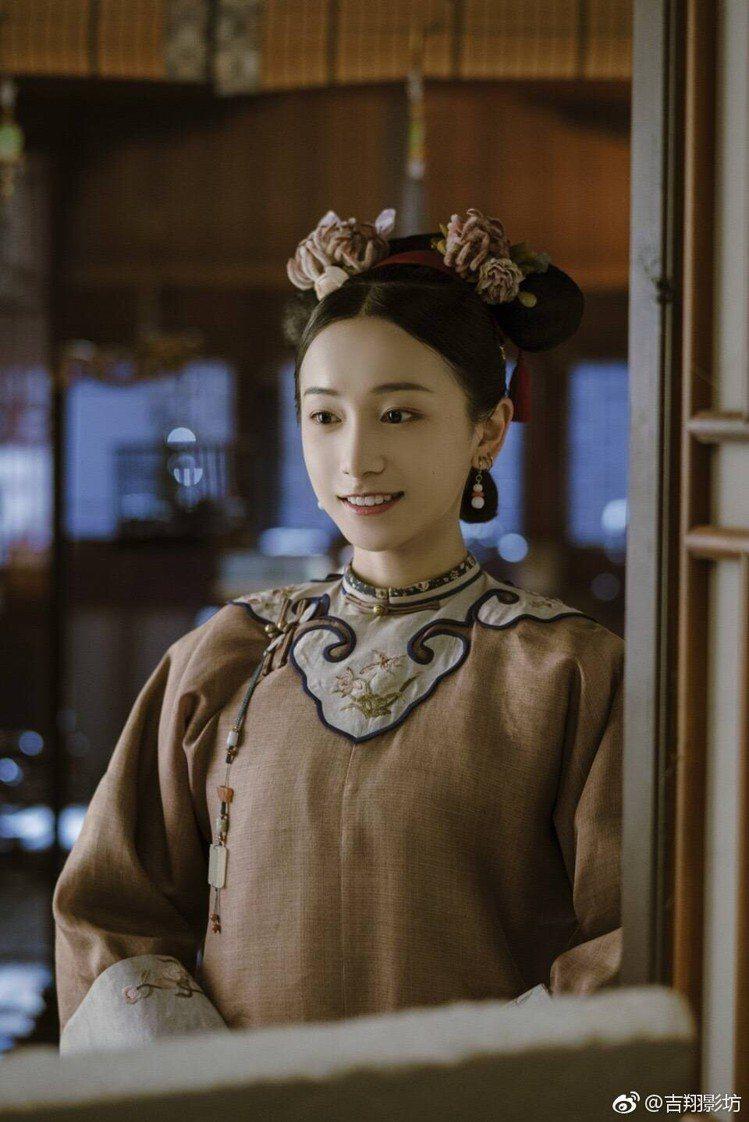姜梓新在「延禧攻略」飾演明玉。圖/擷自微博