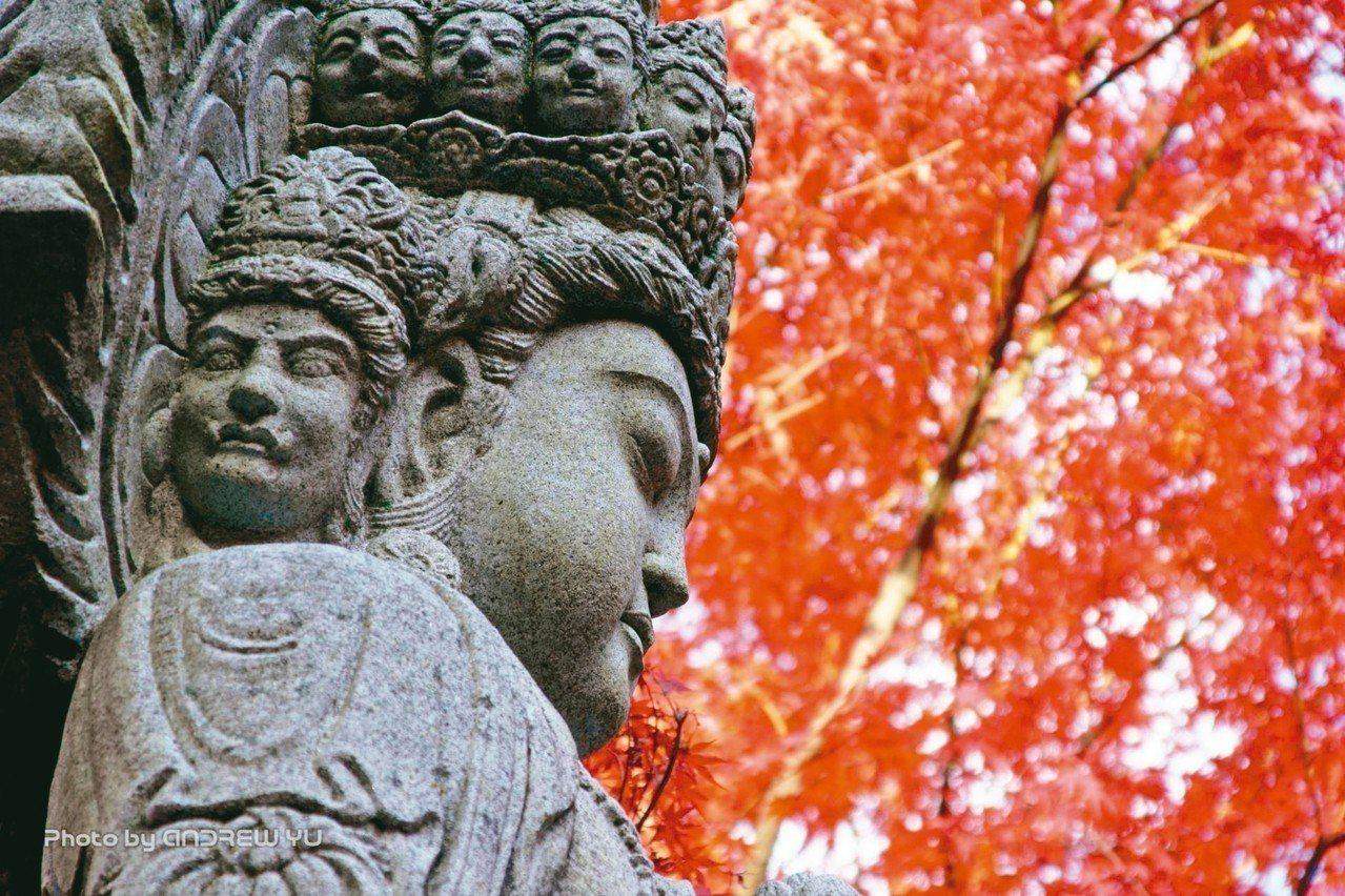 禪林寺俗稱「永觀堂」,寺院種有三千株楓樹。 圖/有行旅提供