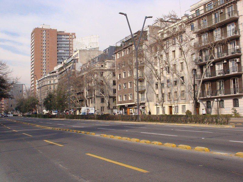 乾淨寬敞的聖地牙哥大街。 文‧攝影/周育如