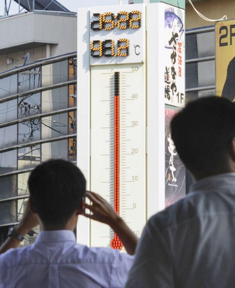 氣候變遷日趨明顯,極端高溫肆虐全球,日本在上月出現41.1度的歷史高溫紀錄。 (...