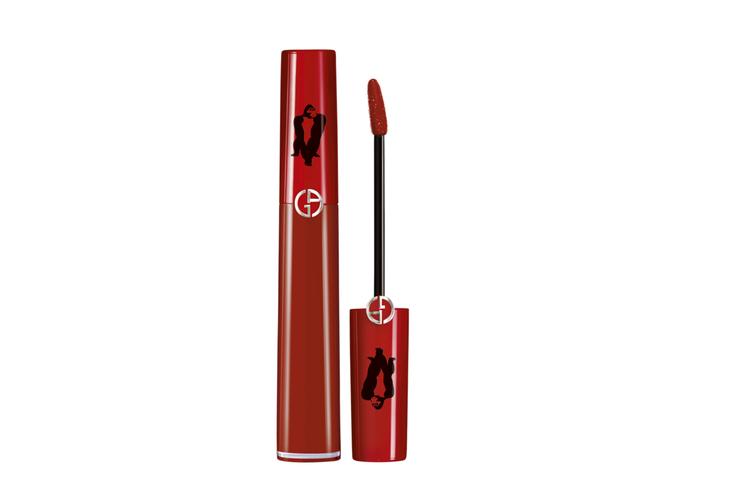 Giorgio Armani奢華絲絨唇萃405 URI限量版,1,200元。圖/...