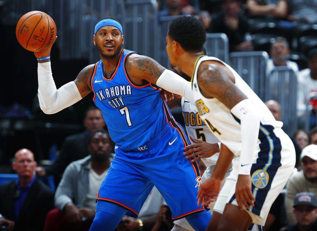 NBA球星安東尼(Carmelo Anthony)和休士頓火箭簽下了一年240萬...