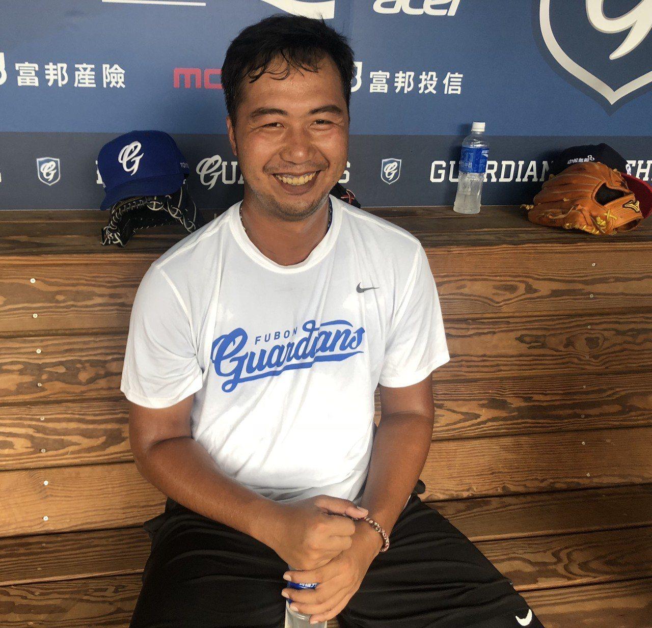 中職富邦悍將隊投手林羿豪相隔約4個月再回到一軍,有不錯表現,他14日表示,去年底...