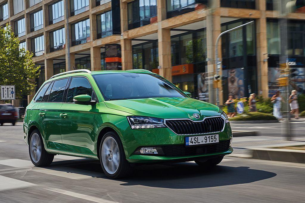 今年3月日內瓦車展發表的小改款Fabia,目前仍是Skoda品牌第二暢銷的車系。 圖/Skoda提供