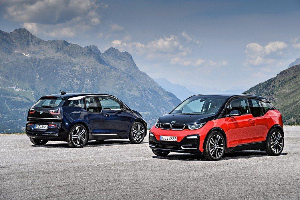 2013年在全球發表的BMW i3為BMW集團第一款量產豪華電動車款。圖/BMW...