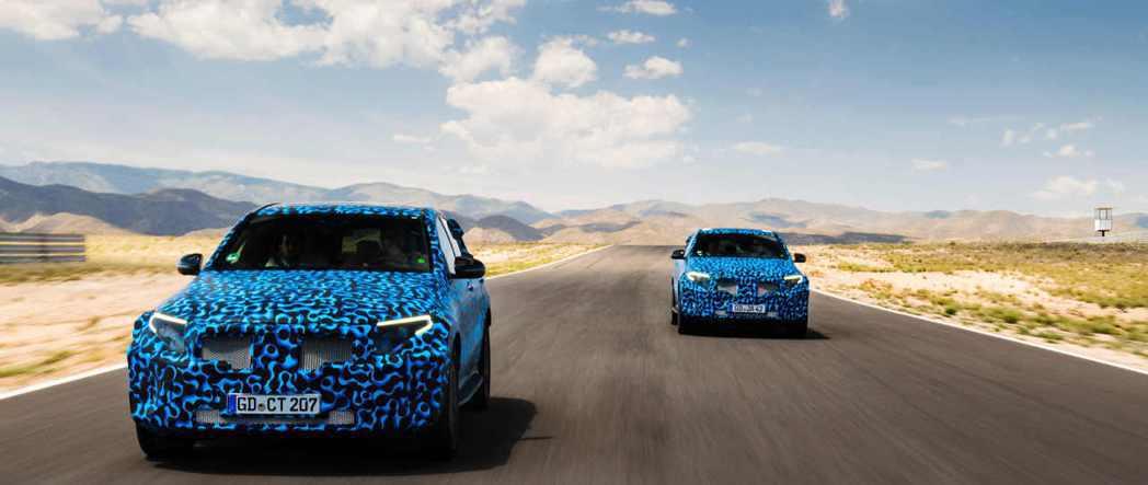 Mercedes-Benz EQC將成為賓士切入電動車市場的首發作品。 圖/Mercedes-Benz提供
