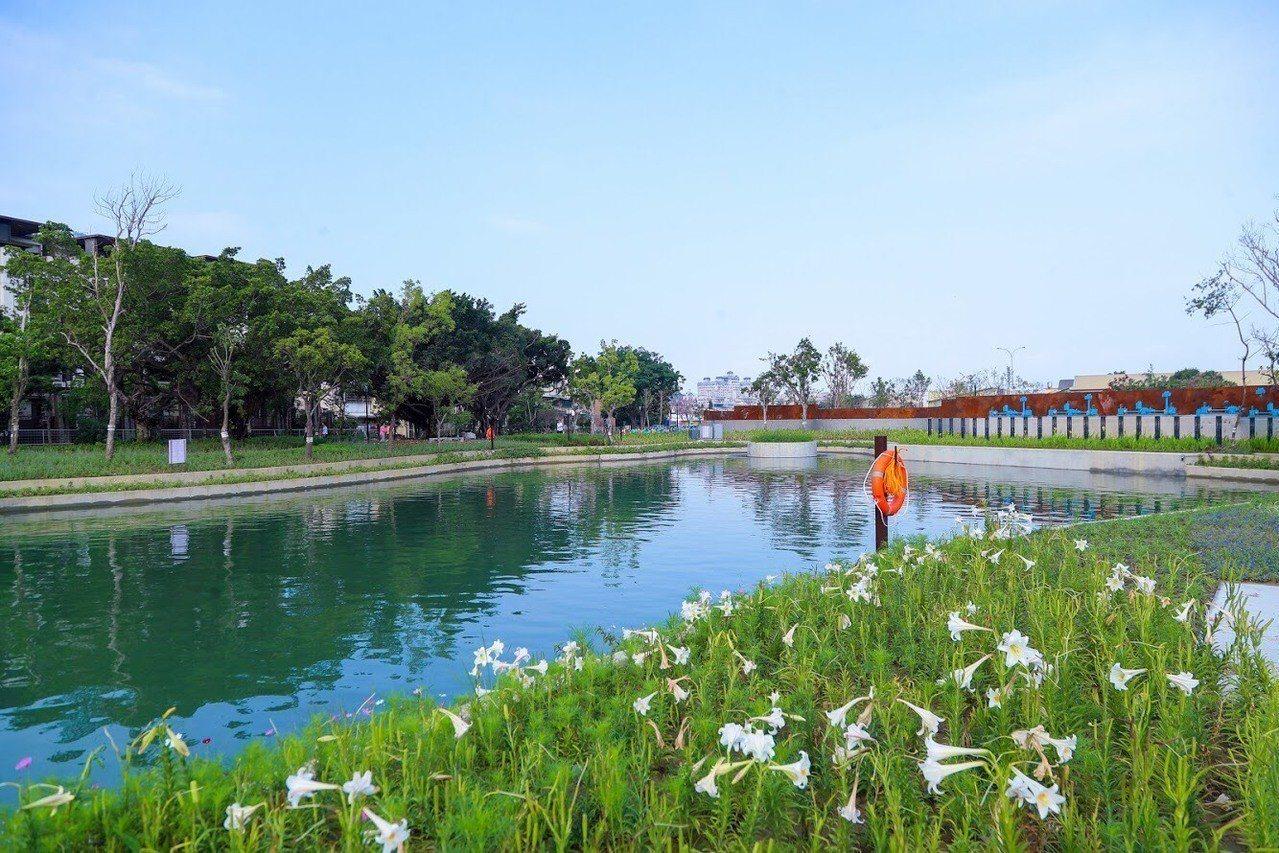 台中市政府將在葫蘆墩公園辦花博婚禮。圖/台中市新聞局提供
