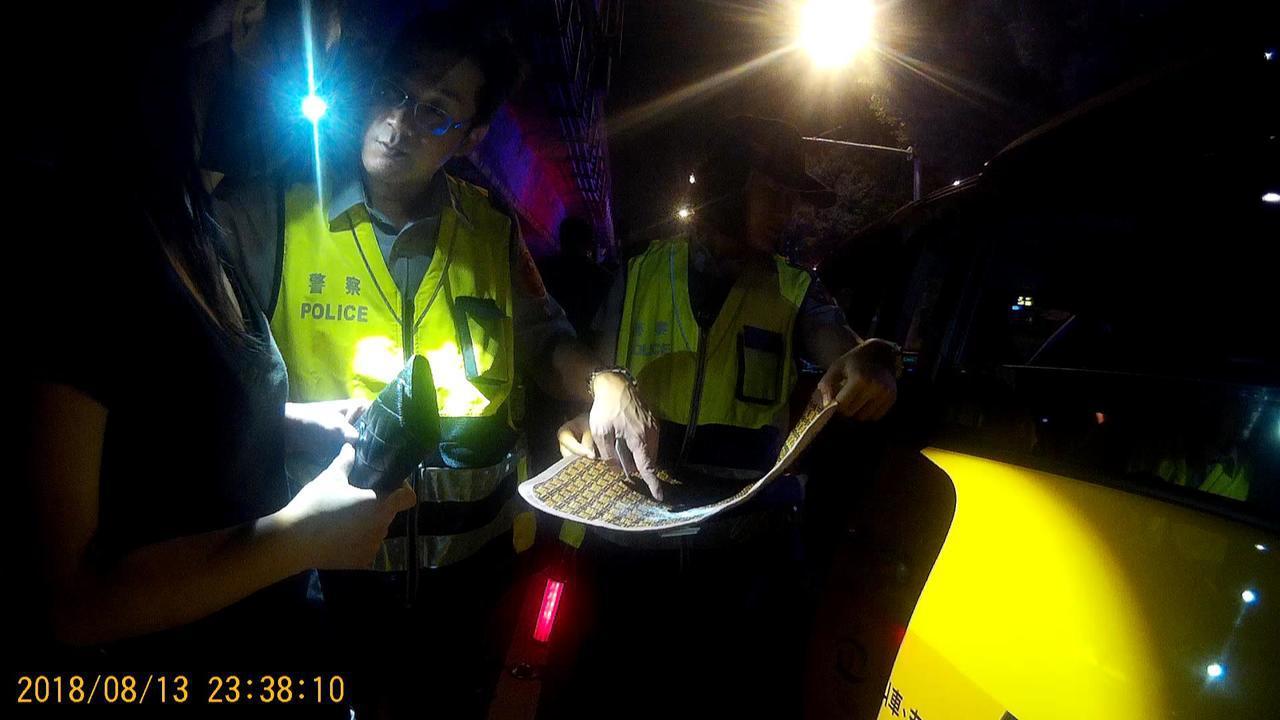 劉喬安持有k他命被警方逮捕。記者李承穎/翻攝