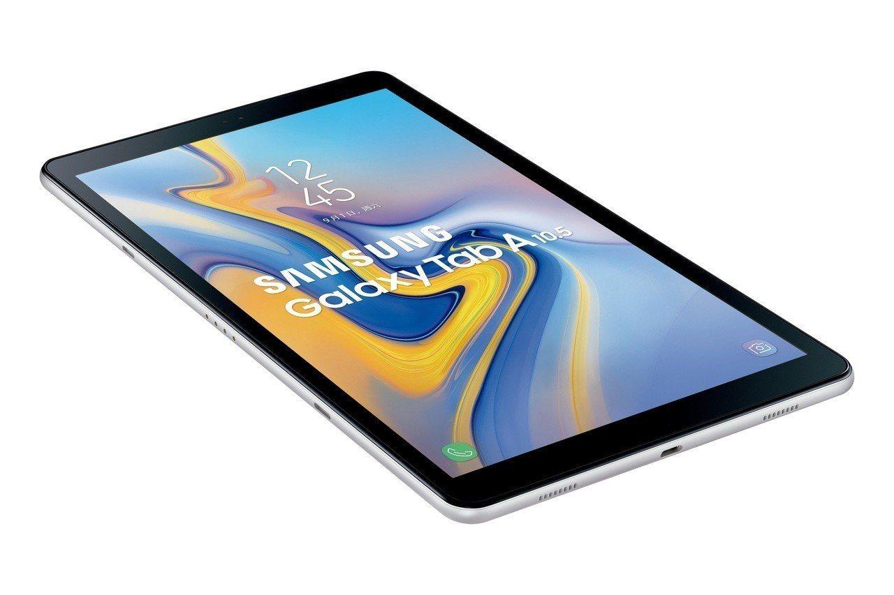 Samsung Galaxy Tab A 10.5內建Always On Dai...