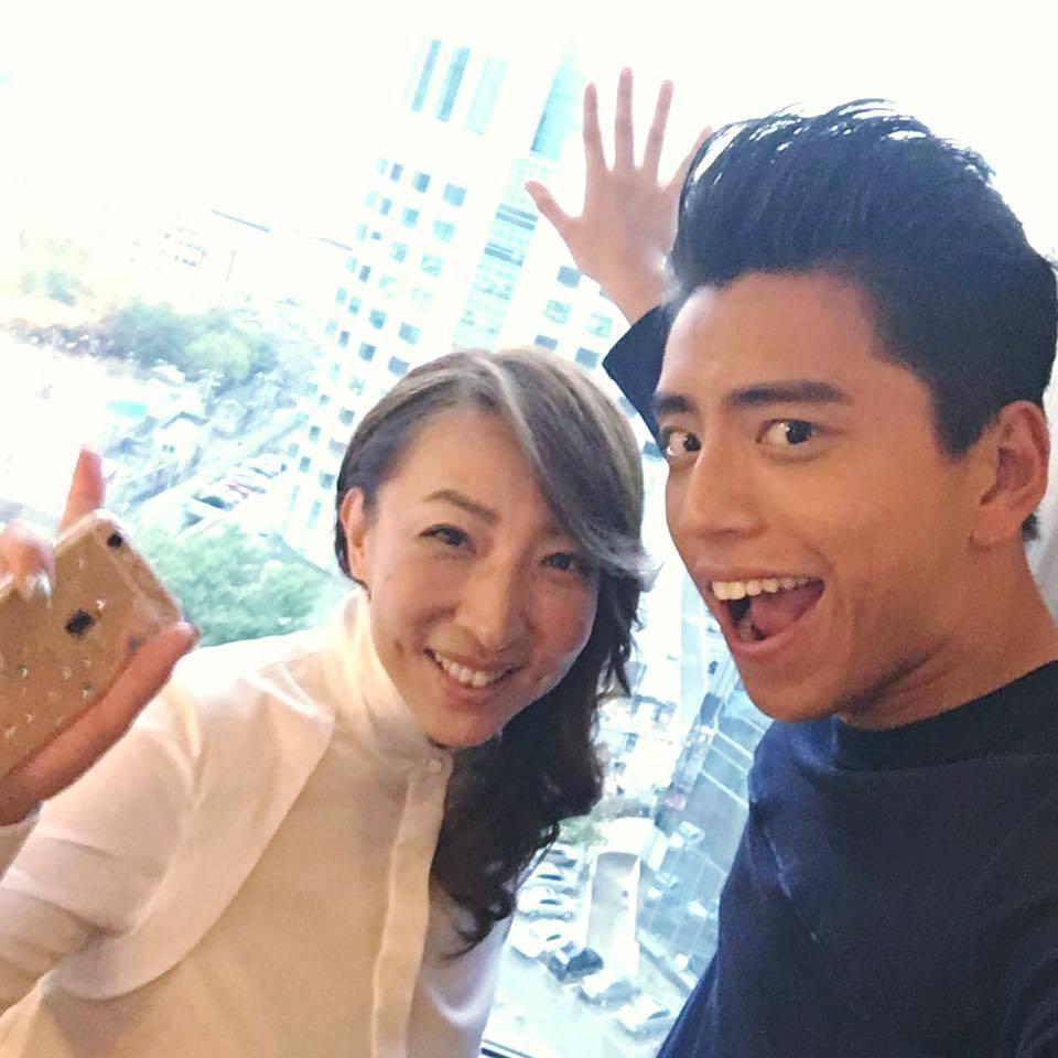 陳玉珊與王大陸合作新片「一吻定情」。圖/摘自臉書