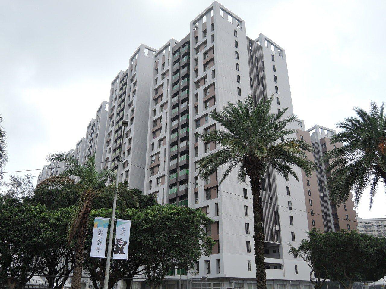 世大運林口選手村將做為社會住宅。聯合報系資料照/記者陳珮琦攝影