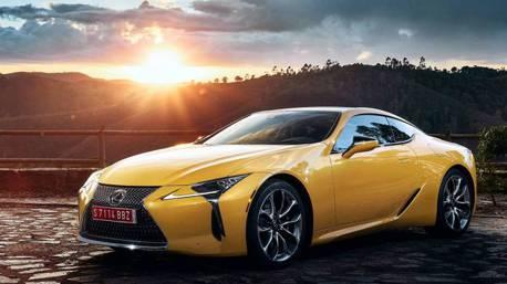 Lexus LC Yellow Edition現身 前往浪漫巴黎伸展台