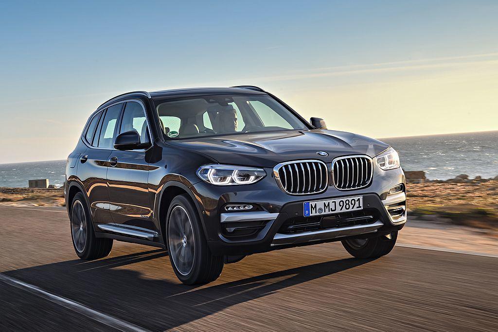 全新第三代BMW X3都會休旅銷售漸入佳境,光6月就銷售成長24.6%。 圖/B...
