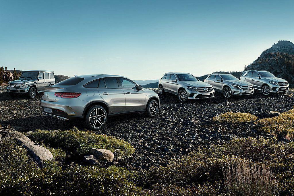 賓士持續穩坐全球最暢銷豪華車廠,同時休旅銷售比占已經達到35.5%。 圖/Mer...