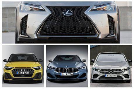 Lexus異軍突起威脅德系三大豪華品牌?全球上半年銷量見真章!