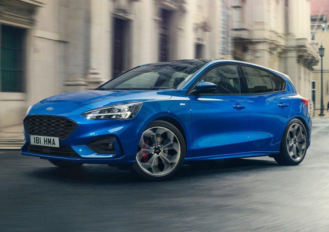 圖為Focus ST-Line。 摘自Ford
