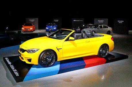經典性能之作 BMW M4敞篷跑車30周年紀念版限量登台