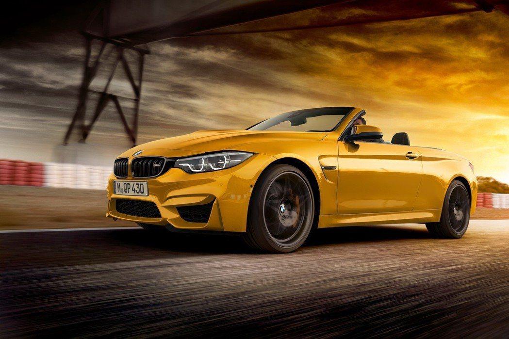 BMW M GmbH推出全球限量300台、台灣配額僅1輛的全新BMW M4敞篷跑...