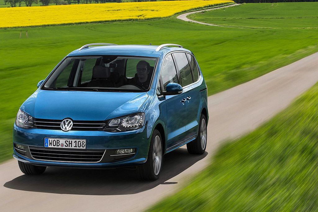 德系正7人做MPV福斯Sharan,增添新入門車型可選。 圖/Volkswagen提供