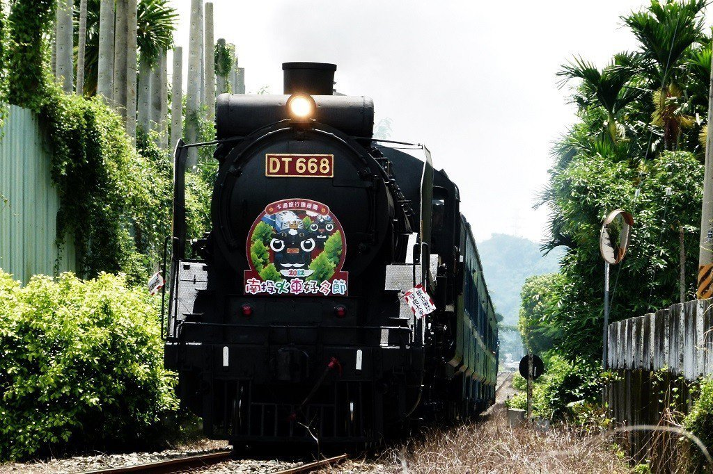 (圖/flickr@Cheng-en Cheng提供) ▲水里火車