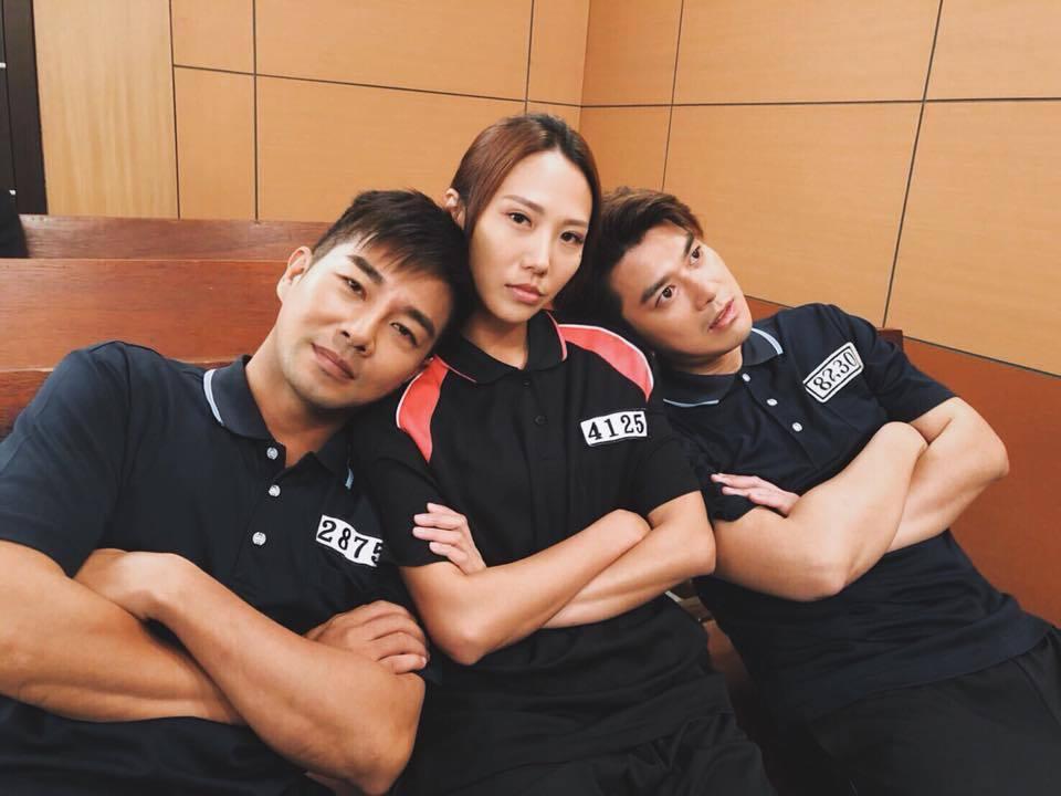 潘逸安(右)在「金家好媳婦」中戲分不少  圖/摘自臉書