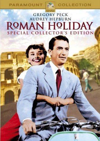 葛雷哥萊畢克與奧黛麗赫本的「羅馬假期」,是永垂不朽、歷久不衰的經典名片。圖/摘自...