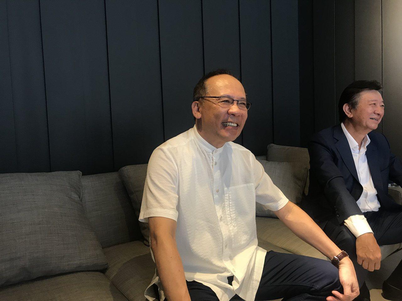 昇陽建設總經理簡伯殷 記者游智文/攝影