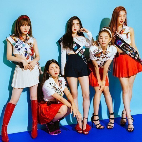韓女團Red Velvet。圖/摘自news1