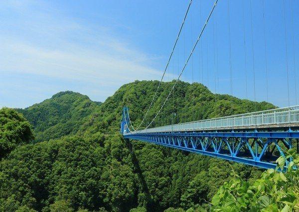「龍神大吊橋」為日本最長的步行者專用吊橋之一。圖/樂天旅遊提供