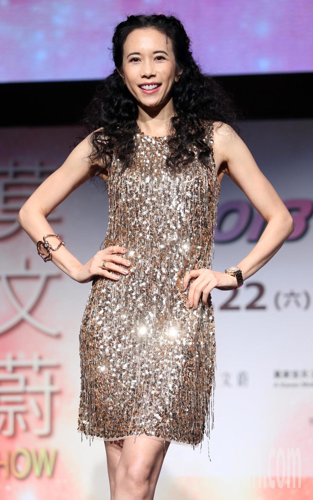 莫文蔚創下香港女藝人在台北小巨蛋開場最多次紀錄。記者侯永全/攝影