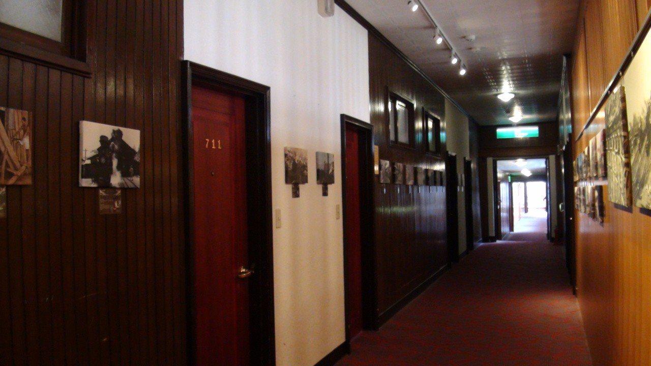 阿里山舊事所曾接待9名日本總督。記者謝恩得/攝影