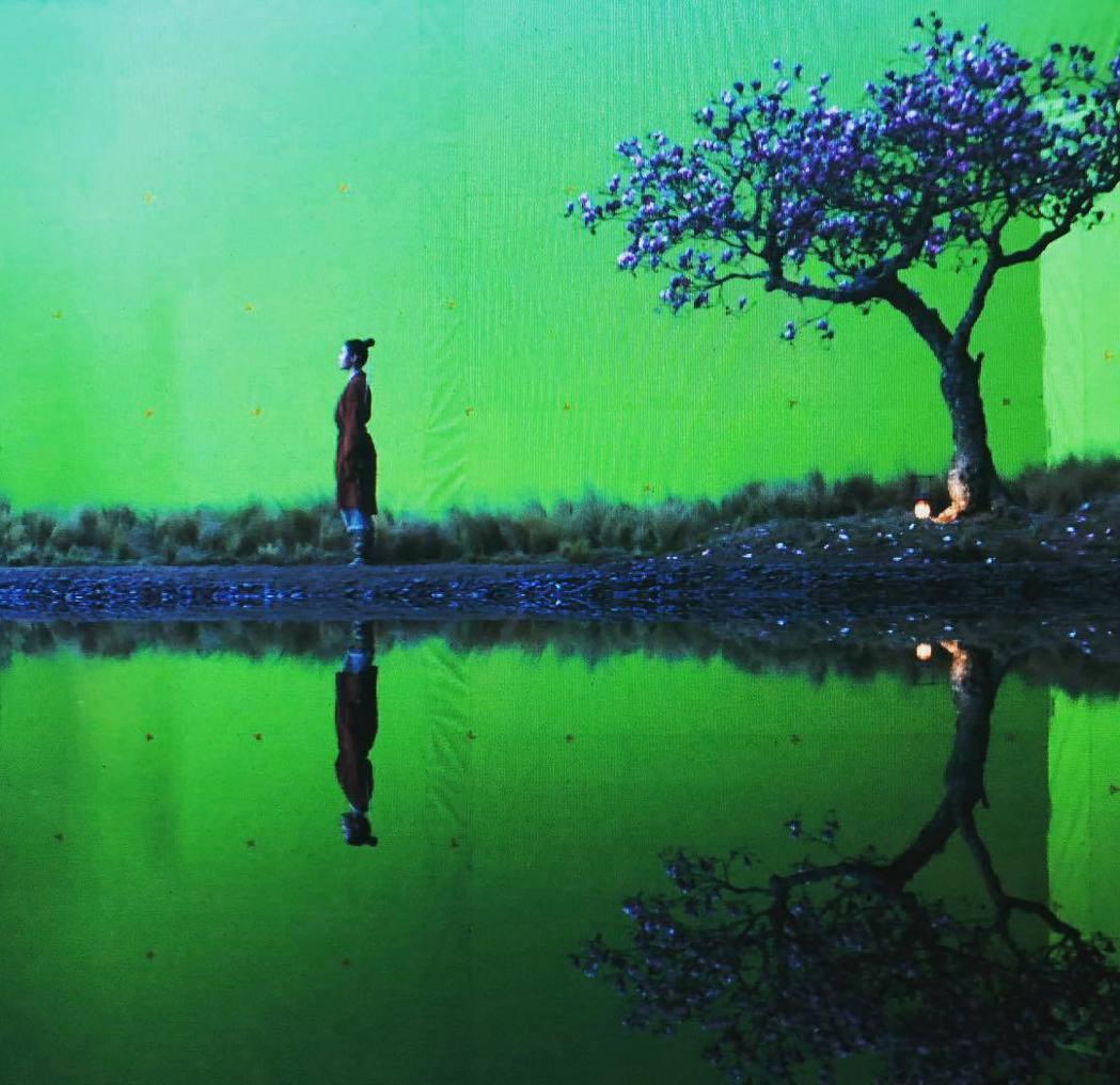 真人版「花木蘭」努力重現動畫中的場景、情境。圖/摘自Instagram