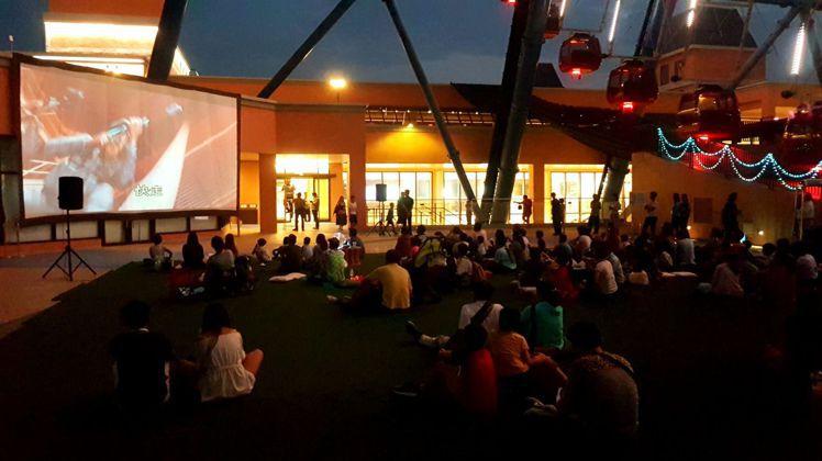 情人節當天特映場播放「愛情摩天輪」。圖/麗寶樂園提供
