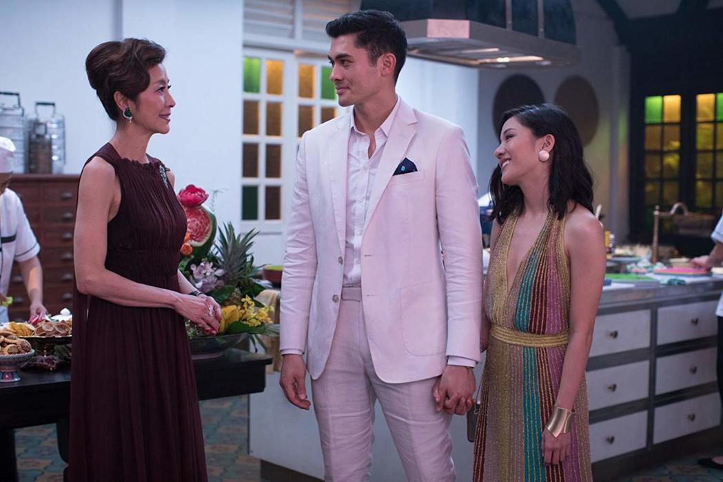 「瘋狂亞洲富豪」極獲美國影評讚譽。票房成績被看好。圖/摘自imdb