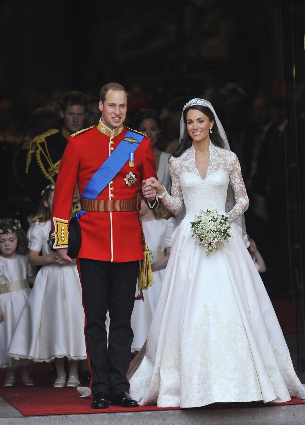 威廉王子與凱特的婚禮也曾是億萬民眾的討論焦點。圖/路透資料照片
