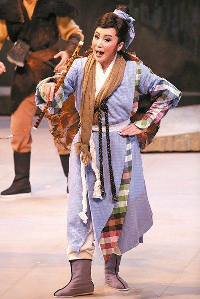 陳亞蘭歌仔戲《牛郎織女》 十一月將唱進台中歌劇院。 記者陳瑞源/攝影